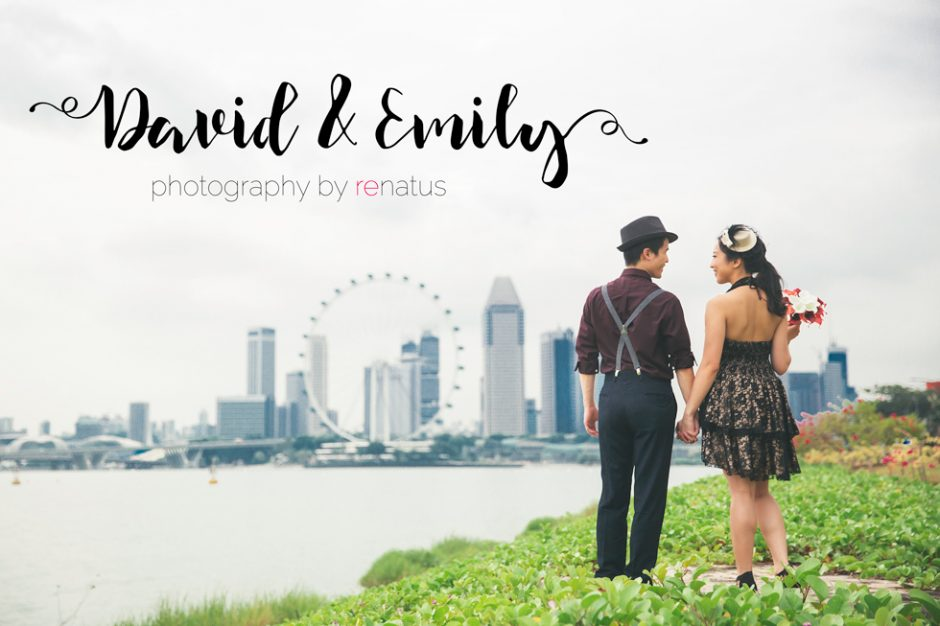 David & Emily Pre Wedding Photography Singapore