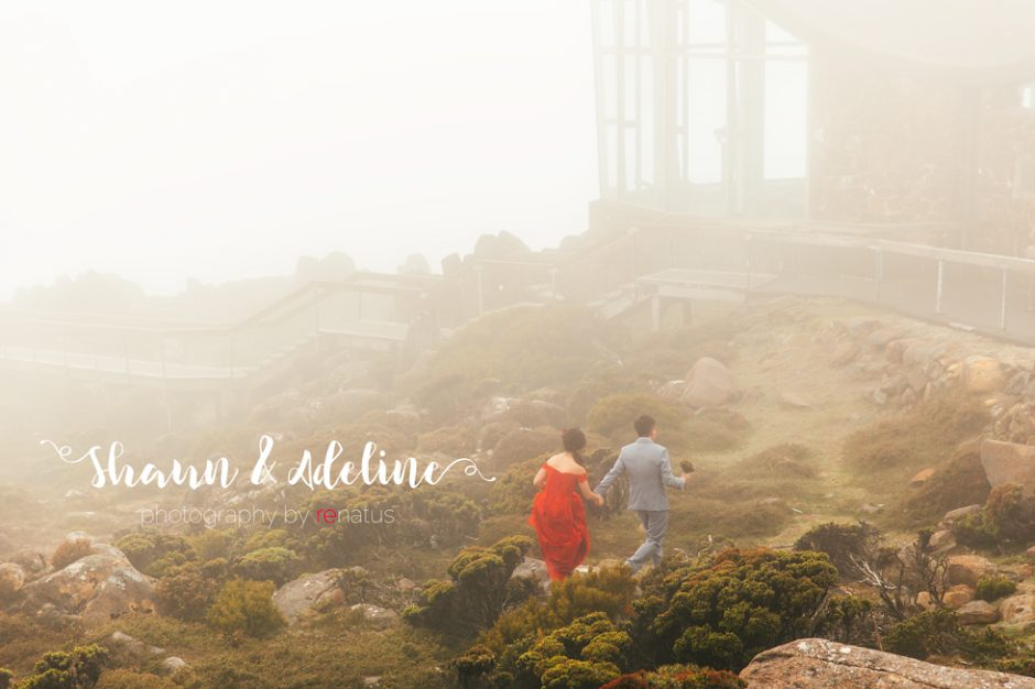 Shaun & Adeline Pre Wedding Destination Bridal Photography Tasmania Australia